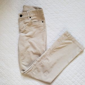 J. Crew Factory Stretch Corduroy Pants, Size 27R